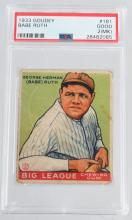 SPORTS CARDS, AUTOGRAPHS, & MEMORABILIA AUCTION