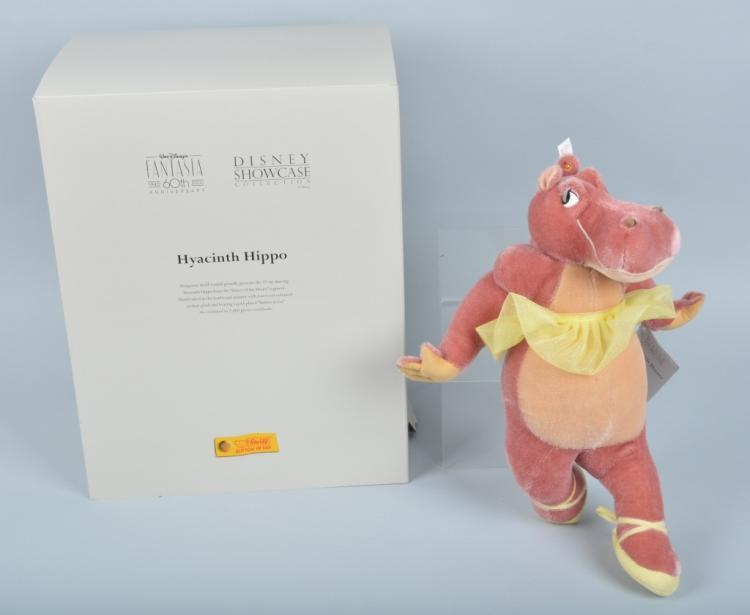 STEIFF FANTASIA 60th ANNIVERSARY HYACINTH HIPPO