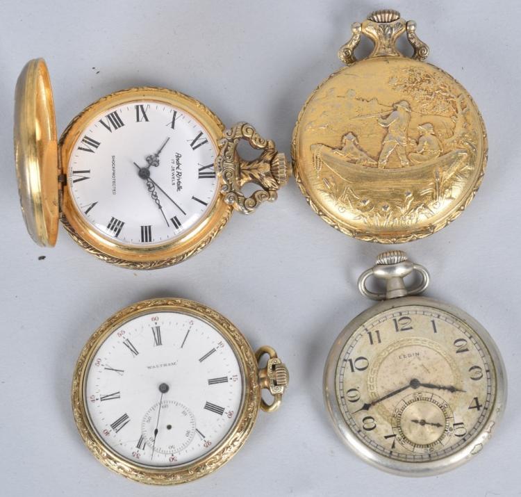16 vintage pocket watches