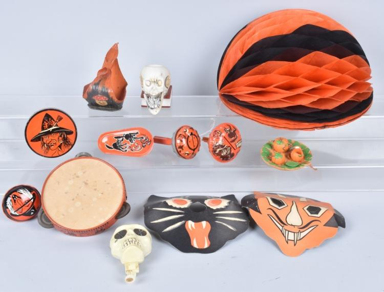 Vintage halloween lot Vintage halloween decorations uk