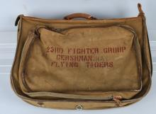 WWII 23RD FIGHTER GROUP FLYING TIGERS SUITCASE