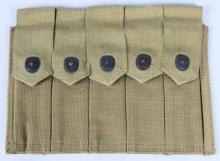 WWII U.S. MARINE CORPS 1942 THOMPSON CLIP POUCH