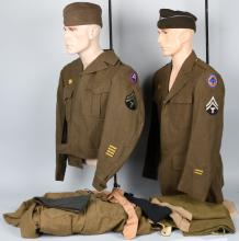 WWII U.S. ARMY UNIFORM LOT 44TH DIVISION