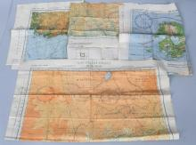 WWII US AAF SILK MAPS - PHILIPPINES CHINA JAPAN