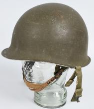 WWII US M1C PARATROOPER HELMET WESTINGHOUSE LINER
