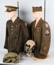 WWII US CBI &14TH AAF UNIFORMS FLIGHT SUIT HELMET