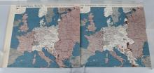 WWII 1944 OSS RESTRICED MAPS - EUROPEAN FRONTS