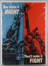 WWII U.S. WAR PRODUCTION BOARD POSTER 1942