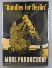 WWII U.S. POSTER BUNDLES FOR BERLIN - 1942