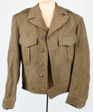 KOREAN WAR ERA IKE JACKET W/ 101ST AIRBORNE PATCH