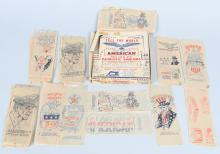 WWII US HOMEFRONT BOXED CHILDRENS PATRIOTIC DECALS