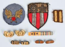 WWII CBI BULLION U.S. ARMY AIR CORPS PATCH LOT