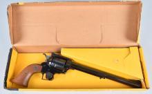 RUGER BLACKHAWK, BUNTLINE .44 MAG. REVOLVER, BOX