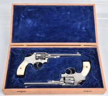 2-SMITH and WESSON .32 HE REVOLVERS