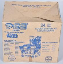 STAR WARS PEZ DISPENSERS COUNTER BOX OF 24