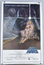 0RIGINAL 1977 STAR WARS STYLE A MOVIE POSTER