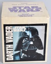 1977 DAN POST STAR WARS DARTH VADER MASK MIB