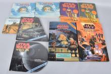 9- STAR WARS POP UP BOOKS