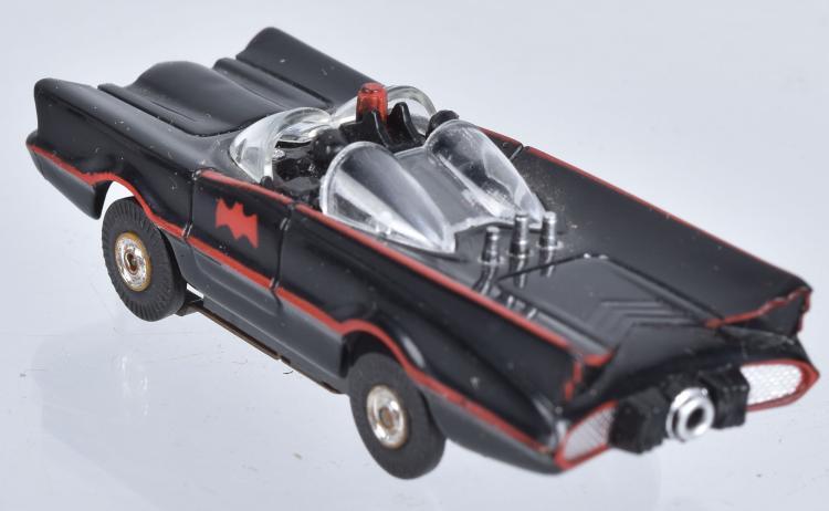 Car Toys Aurora Co: 1966 AURORA BATMAN BATMOBILE SLOT CAR MIB