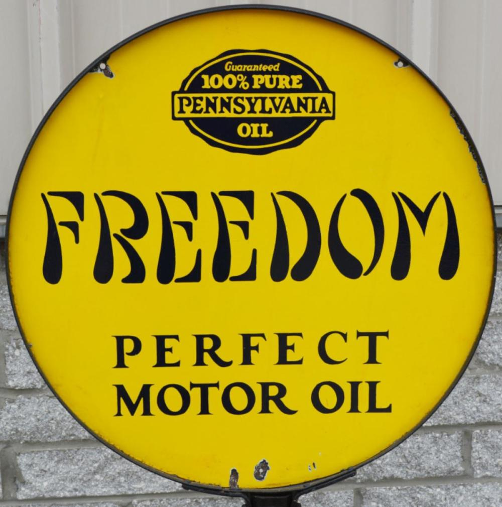 Freedom Perfect Motor w/Penn Seal Logo Porcelain S