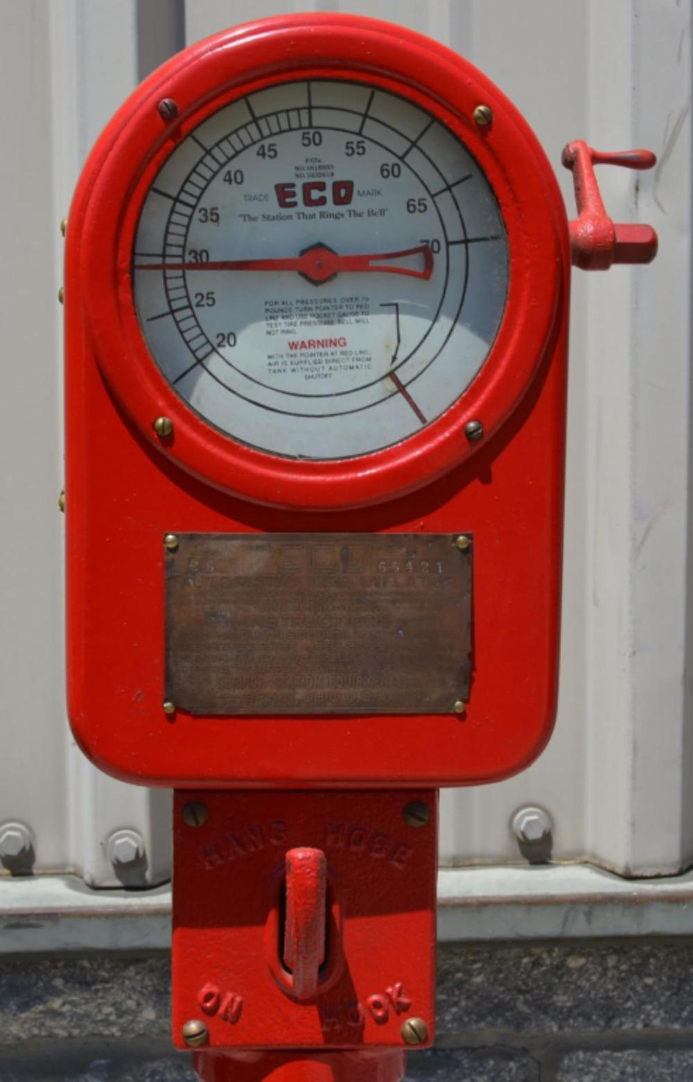 Eco Model 25 Air Meter on Stand Restored