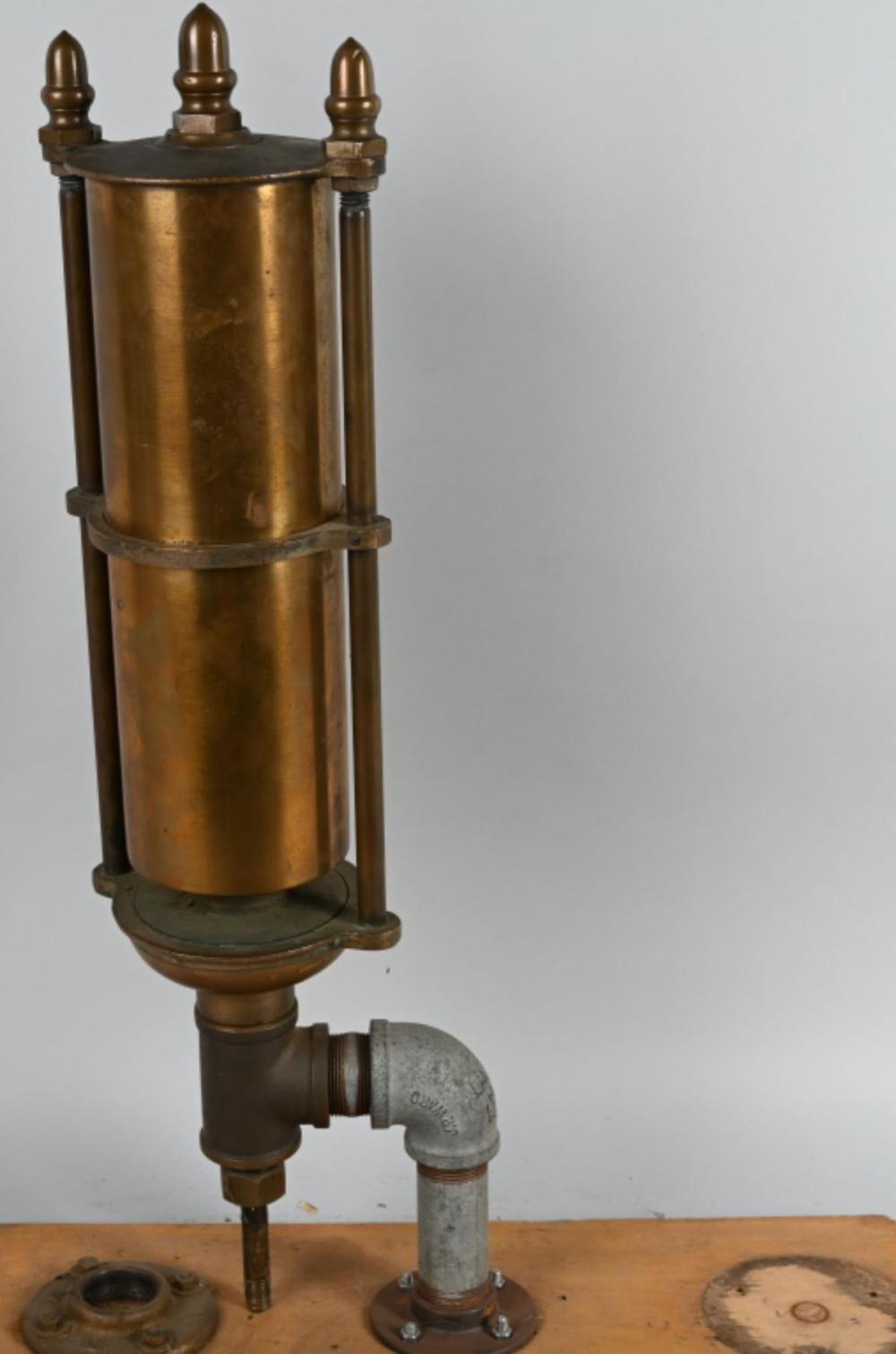 Large Single Stage Brass Whistle