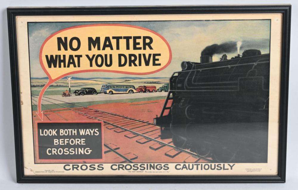 "1941 ""No Matter What You Drive"" Poster"