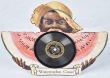 WATERMELON COON TALKING BOOK RECORD & CUTOUT