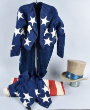 TURN OF THE CENTURY UNCLE SAM PARADE OUTFIT