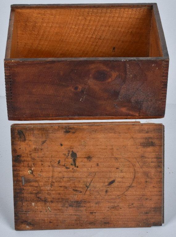 Stickney poors sage wood box for Sage wood