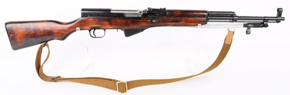 RUSSIAN M45 SKS RIFLE WITH BLADE BAYONET