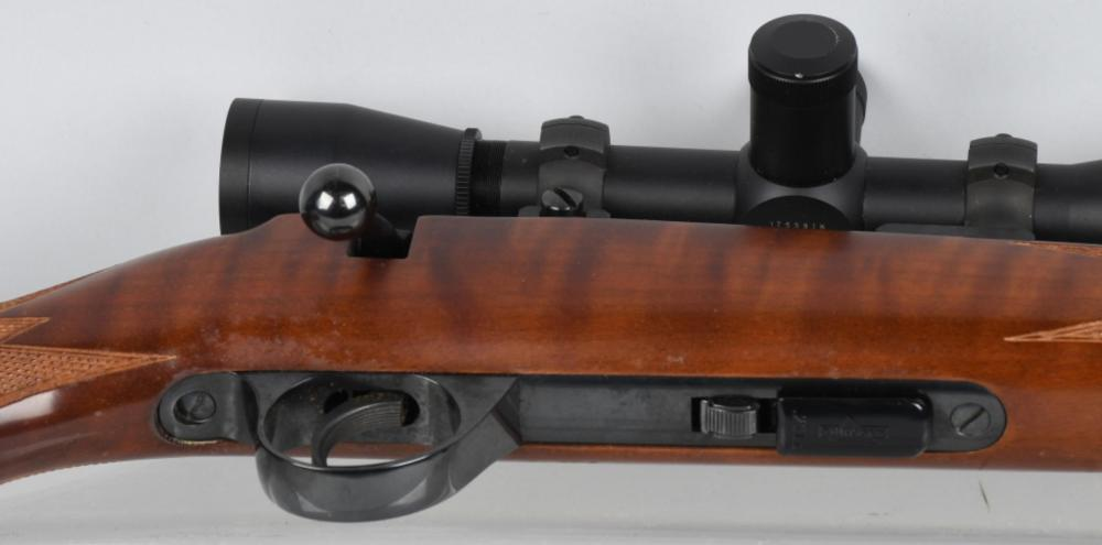 ANSCHUTZ MODEL 1710,  22, W/ LEUPOLD M8 6X42 SCOPE