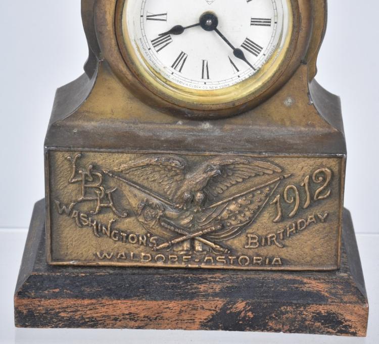 1912 washington 39 s birthday waldorf astoria clock for Waldorf astoria antiques
