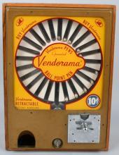 VENDORAMA BALL POINT PEN VENDING MACHINE