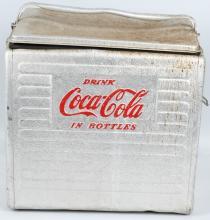 DRINK COCA COLA IN BOTTLES ALUMINUM COOLER