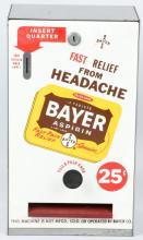 BAYER ASPIRIN VENDING MACHINE