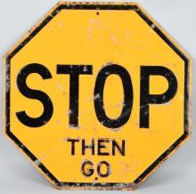 Vintage STOP