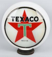 TEXACO DS GAS PUMP GLOBE