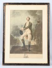 GEORGE WASHINGTON PRINT By V GREEN