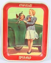 1942 COCA COLA SERVING TRAY