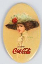 1910 COCA COAL POCKET MIRROR