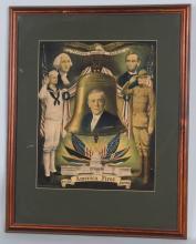 1918 WOODROW WILSON AMERICA FIRST PRINT