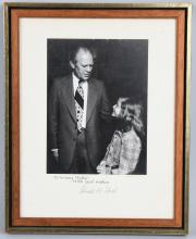 PRESIDENT GERALD FORD AUTOGRAPHED PHOTO