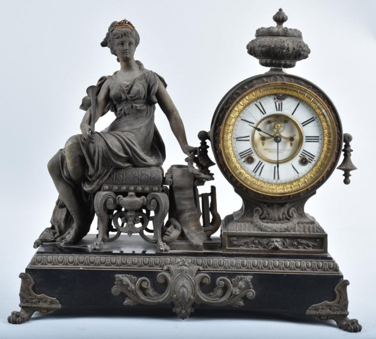 ANSONIA ORNATE MANTEL CLOCK