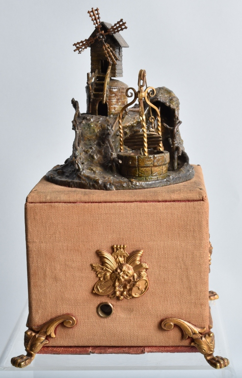 WINDMILL and  WELL MUSIC BOX, VINTAGE