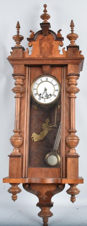 VIENNA ORNATE LARGE WALL CLOCK