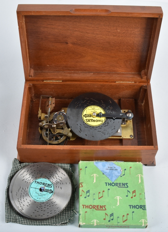 THORENS DISC MUSIC BOX