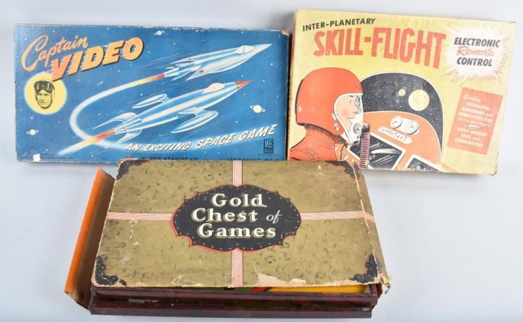 3-VINTAGE GAMES, SPACE, CAPATAIN VIDEO, and MORE