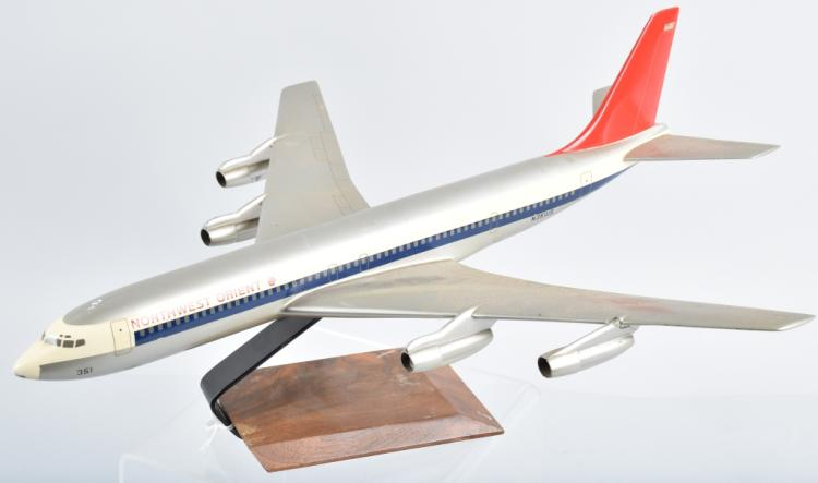 NORTHWEST ORIENT AIRPLANE PROMO DESK MODEL