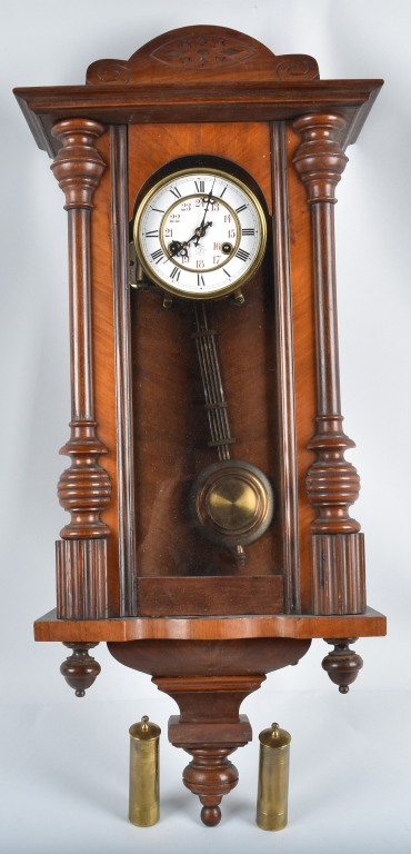 VIENNA REGULATOR WALL CLOCK with MUSIC BOX